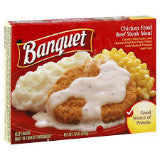 Banquet Chicken Fried Beef Steak Meal