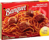 Banquet Spaghetti with Meatballs and Sauce