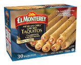 El Monterey Taquitos Grilled Chicken Breast