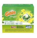 Gain Flings Detergent + Oxi + Febreze