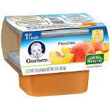 Gerber 1st Foods Peaches
