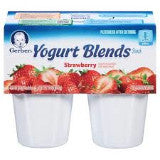 Gerber Yogurt Blends - Strawberry