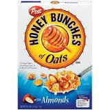 Honey Bunches of Oat - Almonds