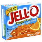 JELL-O Sugar Free Gelatin - Orange