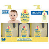 Johnson's Baby Head to Toe Wash (3 Pack)