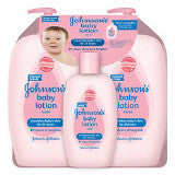 Johnson's Baby Lotion (3 Pack)