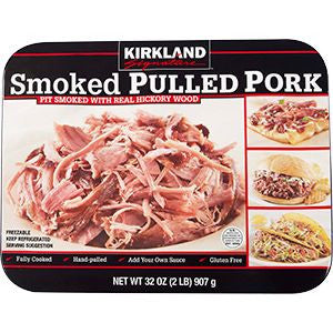 Kirkland Signature Smoked Pulled Pork