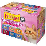Purina Friskies Gravy Pleasers Club Pack (48 cans)