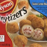 Tyson Mini Breaded Chicken Cordon Bleu