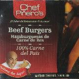 Chef Pineiro's Beef Burgers - 100% Carne del Pais