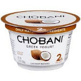 Chobani Greek Yogurt - Coconut Blended