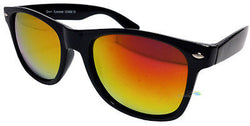 Mens Ladies Spectrum Mirror Lens Wayfarer Sunglasses 100% UV400 One Size Various Colours -  - Sunglasses - Raintopia - 1