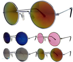Mens Womens Small Round Lennon Style Sunglasses UV400 -  - Sunglasses - Raintopia - 1
