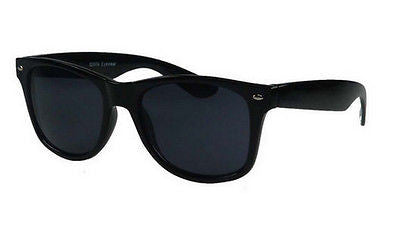 Classic Wayfarer Sunglasses with Black Frame Dark Lens 'Deluxe' Edition -  - Sunglasses - Raintopia