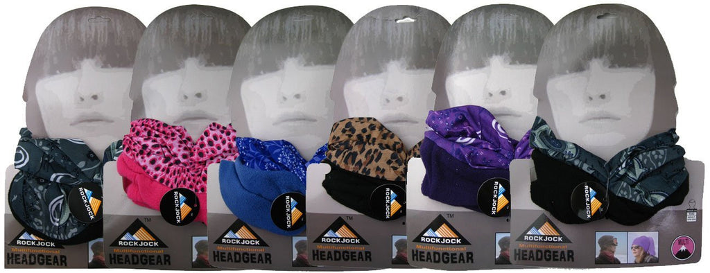 Ladies Multifunctional Snood Head Warmer One Size -  - Scarves & Shawls - Raintopia - 1