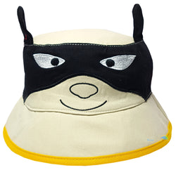 Children's 'Batman' Style Character Bush Hat -  - Hats - Raintopia - 1