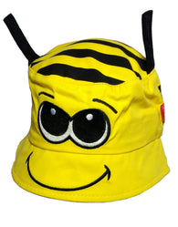 Child's Cotton Bee Summer Bucket Sun Hat -  - Hats - Raintopia - 1