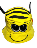 Child's Cotton Bee Summer Bucket Sun Hat -  - Hats - Raintopia - 2