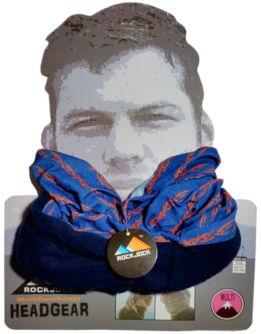 Men's Blue Barbed Wire Design Multifunctional Snood -  - Scarves & Shawls - Raintopia - 1