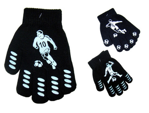 Children's Magic Gloves with Palm Grip Football Design One Size -  - Gloves & Mittens - Raintopia - 1