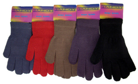 Colour Magic Stretch Gloves Thermal Acrylic One Size Fits All -  - Gloves & Mittens - Raintopia - 1