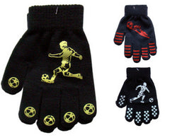Children's Colour Magic Gloves with Palm Grip Football Design One Size -  - Gloves & Mittens - Raintopia - 1