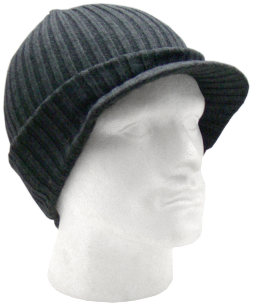988bf0ff93f91 Men's Quality Knitted Peak Beanie Hat by Bickley & Mitehell – Raintopia