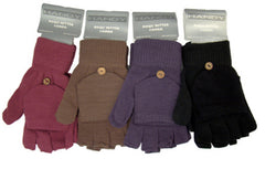 Magic Fingerless Combo Mitten Gloves Thermal Acrylic 2 in 1 -  - Gloves & Mittens - Raintopia - 1