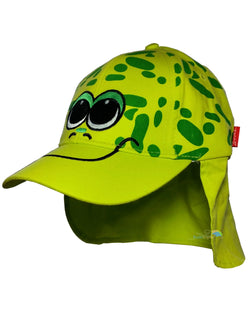 Child's Cotton Frog Summer Legionnaire Hat -  - Hats - Raintopia - 1