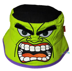 Children's 'The Hulk' Character Style Bush Hat -  - Hats - Raintopia - 1