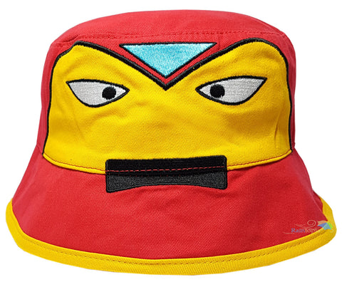 Children's 'Iron Man' Style Character Bush Hat -  - Hats - Raintopia - 1