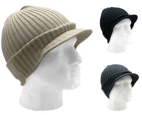 5573cc6524 Men's Quality Knitted Peak Beanie Hat by Bickley & Mitehell – Raintopia