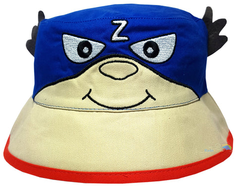 Children's 'Red Mask' Style Character Bush Hat -  - Hats - Raintopia - 1