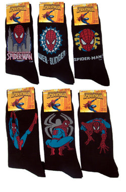 Mens Boys Marvel Spiderman Cotton Socks Casual One Pair Size UK 6-11 NWT -  - Socks - Raintopia - 1