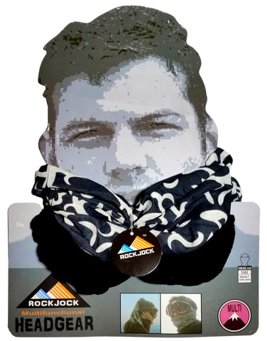 Men's Tribal Design Multifunctional Snood Hat Scarf -  - Scarves & Shawls - Raintopia - 1