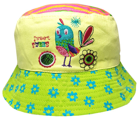 Baby Girls 'Tweet Tweet Birdie' Sun Hat -  - Hats - Raintopia - 1