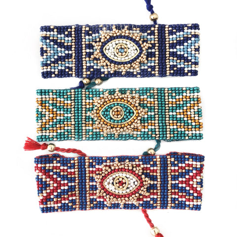 Evil Eye Bracelet - CLICK FOR ALL COLORS