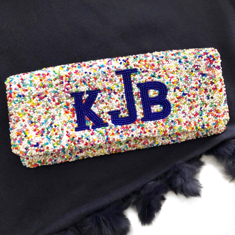 Design Your Own Beaded Clutch - SMALLER SIZE