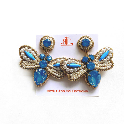 Handmade Dragonfly Earrings - CLICK FOR ALL COLOR OPTIONS
