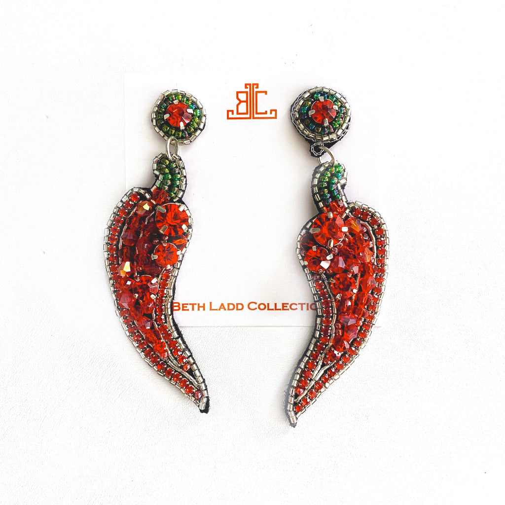 Hot Pepper Earrings