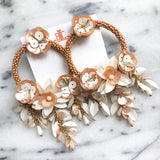 Lottie Flower Earrings - CLICK FOR BOTH COLORS