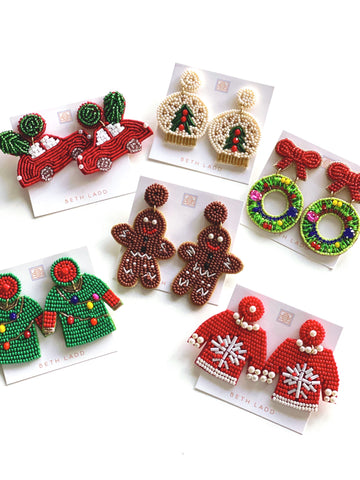 Holiday Earrings - CLICK FOR ALL OPTIONS