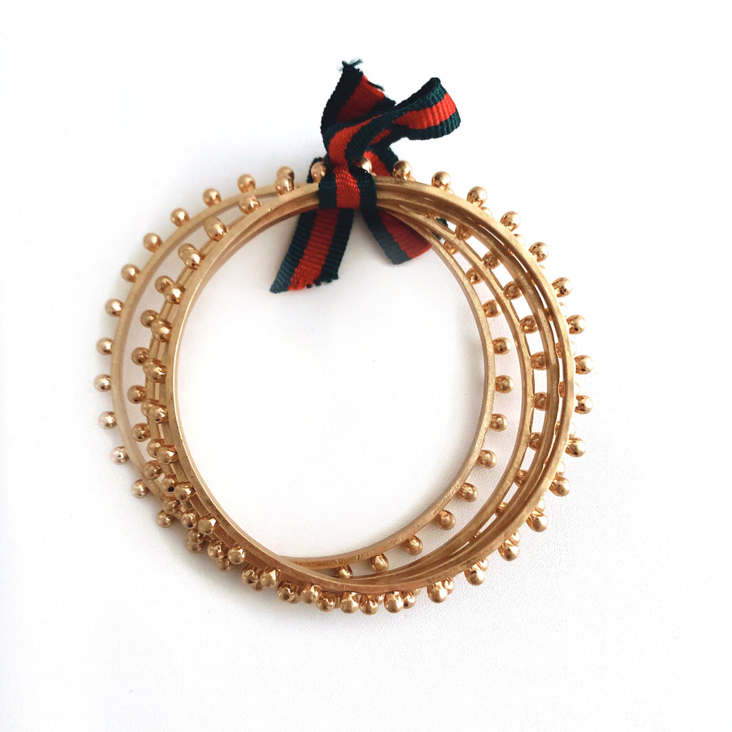 Kate Studded Bangles - CLICK FOR BOTH COLOR OPTIONS