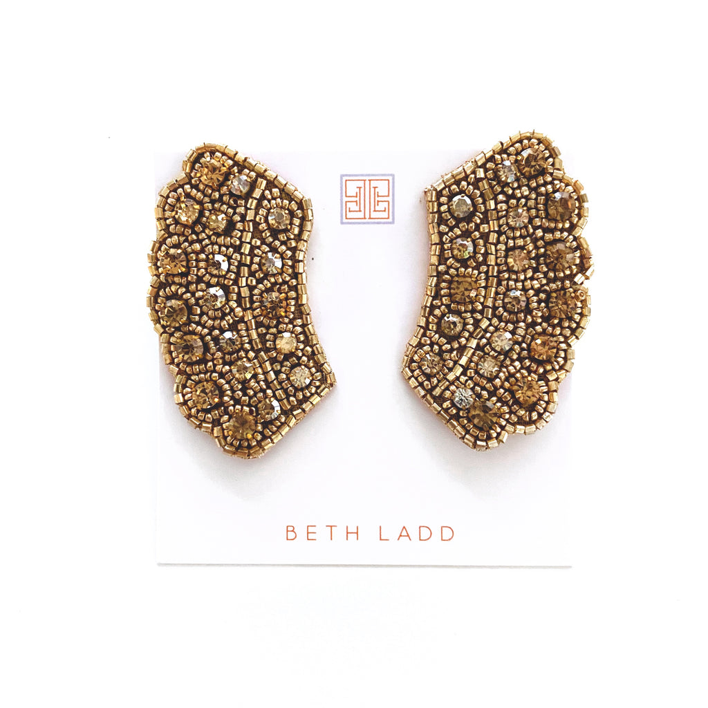 RBG Earrings in Gold