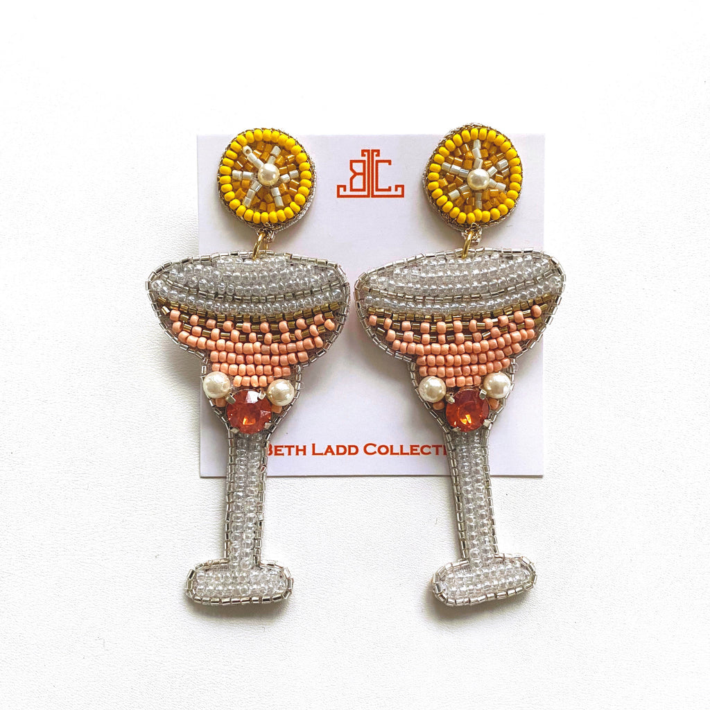 Peach Bellini Earrings