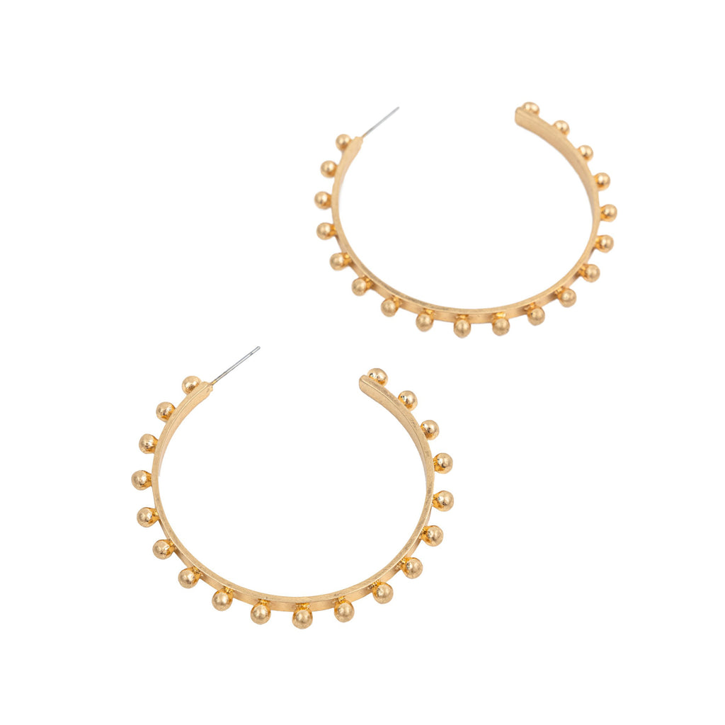 "Kate Hoops - Large 2"" - CLICK FOR BOTH COLOR OPTIONS"