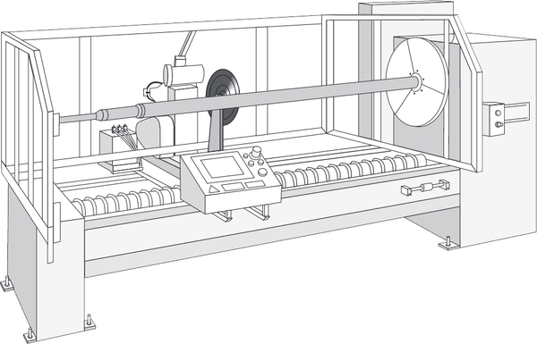 AUTOMATIC SINGLE ROLL SLITTER