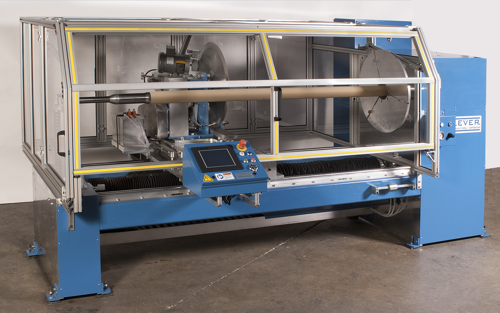 20 inch AUTOMATIC SINGLE ROLL SLITTER