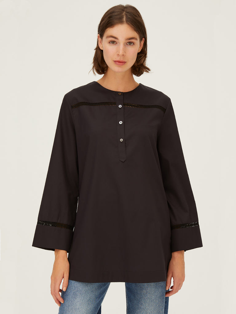 Harshman Kalina Top in Black