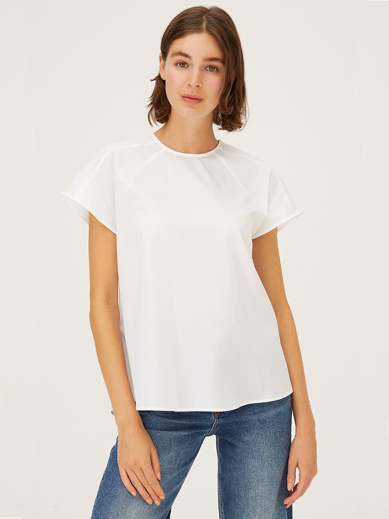 Harshman Cotta Top in White
